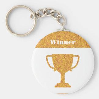 Winner Waves Winning Image Basic Round Button Keychain