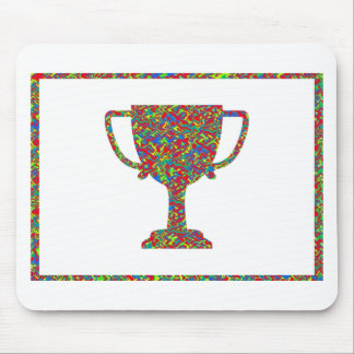 Winner Waves Winning Image Mouse Pad