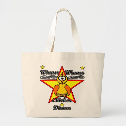 Winner Winner Chicken Dinner Tote Bags