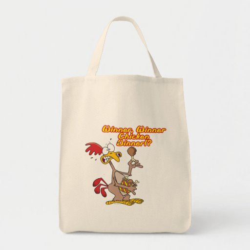 winner winner chicken dinner irony humor bags