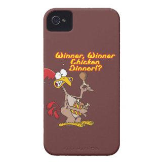 winner winner chicken dinner irony humor Case-Mate iPhone 4 case