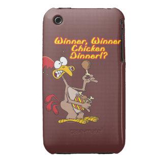 winner winner chicken dinner irony humor iPhone 3 case