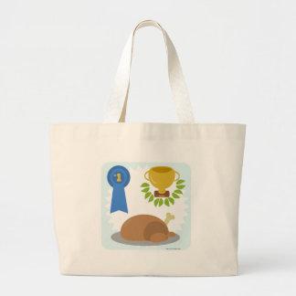 Winner Winner Chicken Dinner Large Tote Bag