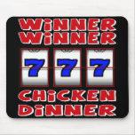 WINNER WINNER CHICKEN DINNER MOUSE PAD