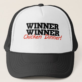 Winner winner chicken dinner trucker hat