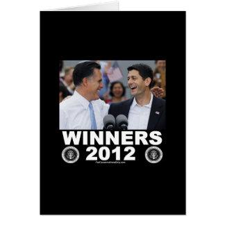 Winners 2012 card