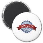 Winners award medal magnets
