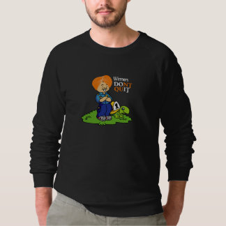 Winners donot Quit Funny Sweatshirt