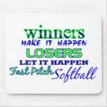 Winners....Fast Pitch Softball Mousepad