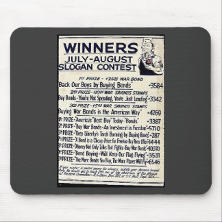 Winners July - August Slogan Contest Mouse Pad