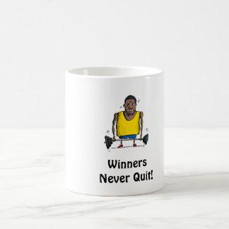 Winners Never Quit Mug