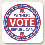 Winners Vote Republican Coaster