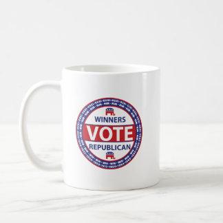 Winners Vote Republican Coffee Mug