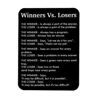 Winners Vs Losers Magnet