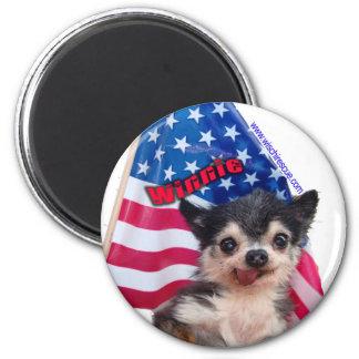 Winnie (Flag Magnet) Magnet