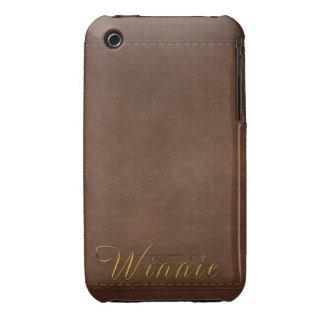 WINNIE Leather-look Customised Phone Case