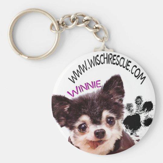 Winnie (Paw Print) Keychain