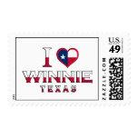 Winnie, Texas Postage Stamps
