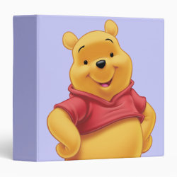 Avery Signature 1' Binder with Disney's Winnie the Pooh Gifts design