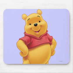 Mousepad with Disney's Winnie the Pooh Gifts design