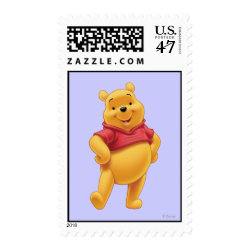 Medium Stamp 2.1' x 1.3' with Disney's Winnie the Pooh Gifts design