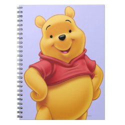Photo Notebook (6.5' x 8.75', 80 Pages B&W) with Disney's Winnie the Pooh Gifts design