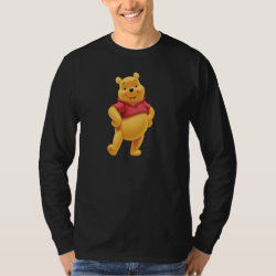 Men's Basic Long Sleeve T-Shirt with Disney's Winnie the Pooh Gifts design