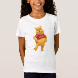 Girls' Fine Jersey T-Shirt with Disney's Winnie the Pooh Gifts design