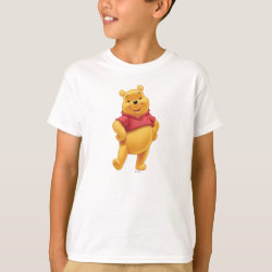 Kids' Hanes TAGLESS® T-Shirt with Disney's Winnie the Pooh Gifts design