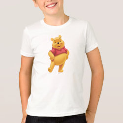 Kids' American Apparel Fine Jersey T-Shirt with Disney's Winnie the Pooh Gifts design
