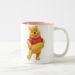 Two-Tone Mug with Disney's Winnie the Pooh Gifts design