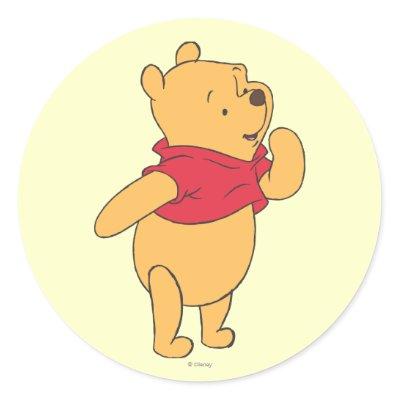 Winnie the Pooh 11 Sticker
