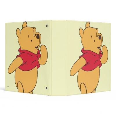 Winnie the Pooh 11 Vinyl Binder