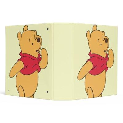 Winnie the Pooh 11 Vinyl Binders