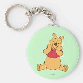 Winnie the Pooh 12 Llavero Redondo Tipo Pin