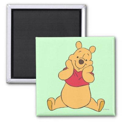 Winnie the Pooh 12 Refrigerator Magnet