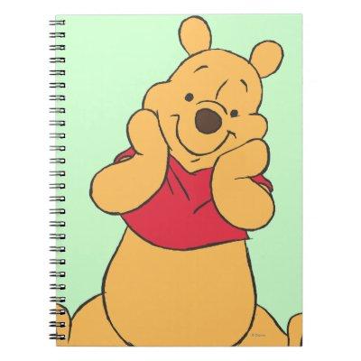 Winnie the Pooh 12 Spiral Note Books