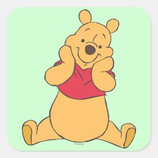 Winnie the Pooh 12 Square Sticker