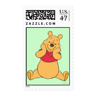 Winnie the Pooh 12 Timbres Postales
