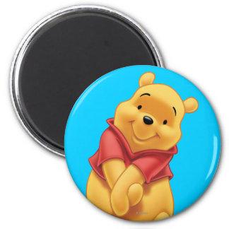 Winnie the Pooh 13 Imán Redondo 5 Cm