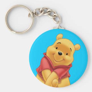 Winnie the Pooh 13 Llavero Redondo Tipo Pin