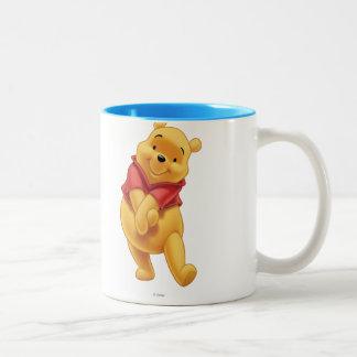 Winnie the Pooh 13 Taza De Café De Dos Colores