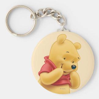Winnie the Pooh 14 Llavero Redondo Tipo Pin