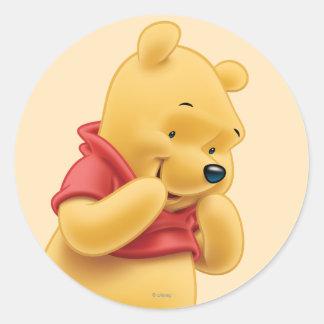 Winnie the Pooh 14 Pegatina Redonda