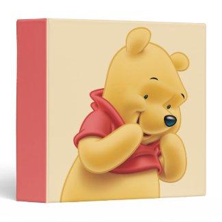 Winnie the Pooh 14 Vinyl Binder
