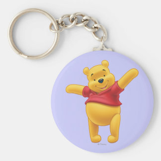 Winnie the Pooh 1 Llavero Redondo Tipo Pin