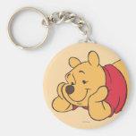 Winnie the Pooh 2 Llavero Redondo Tipo Pin