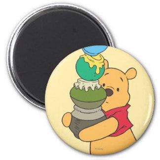 Winnie the Pooh 3 Imán Redondo 5 Cm