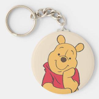 Winnie the Pooh 6 Llavero Redondo Tipo Pin