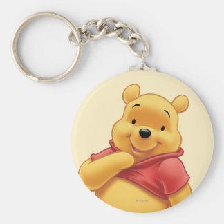 Winnie the Pooh 8 Llavero Redondo Tipo Pin